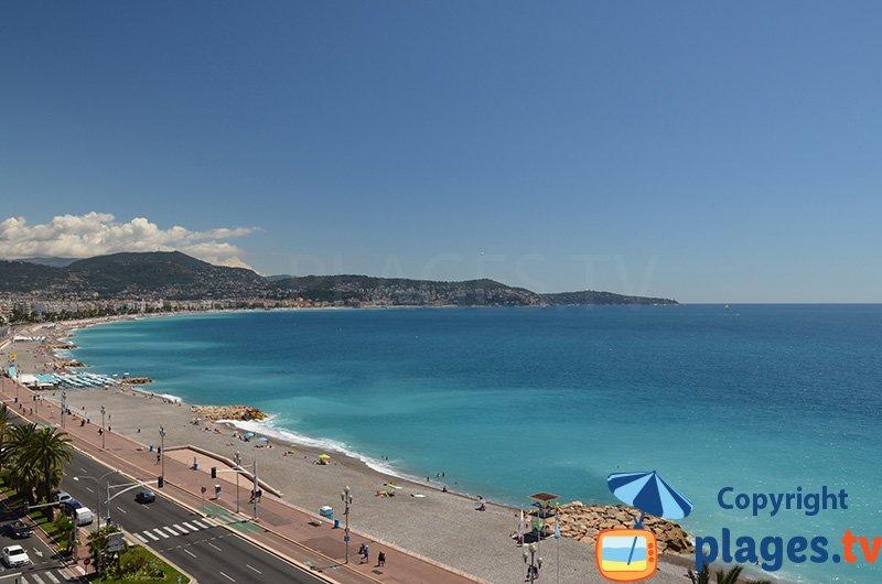 Nice, sa plage et sa promenade des Anglais