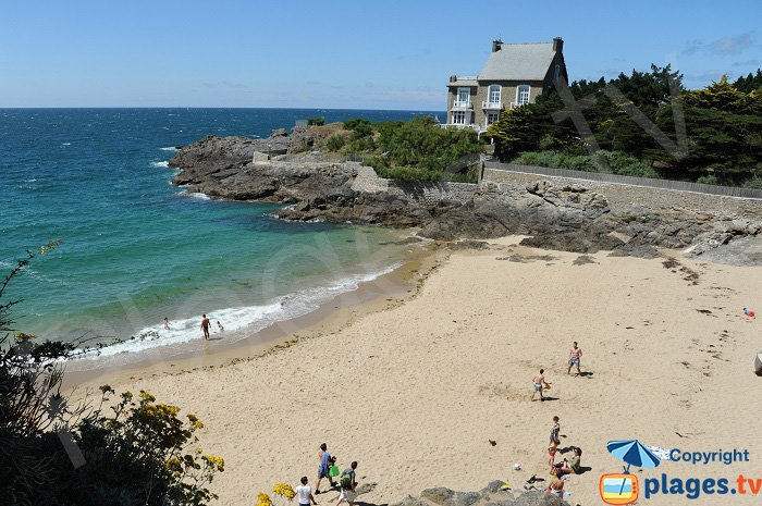 The Nicet: secret cove in St Malo
