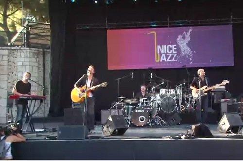 Festival de Jazz à Nice dans le jardin Albert Premier