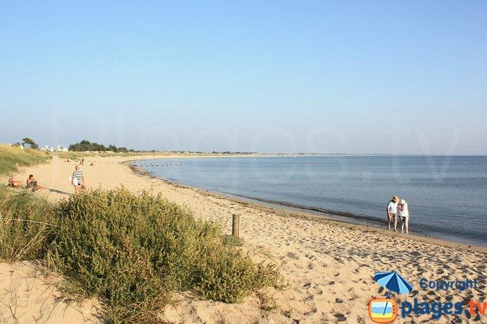 Court Beach in the village of Guérinière - Noirmoutier