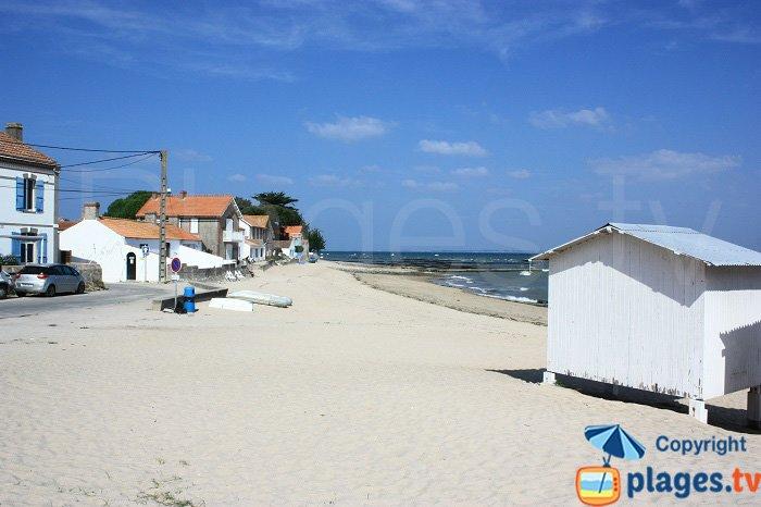 La plage de César et Rosalie - Noirmoutier