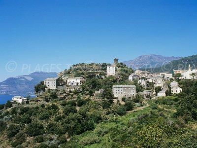 Nonza Cap Corse perché sur son rocher