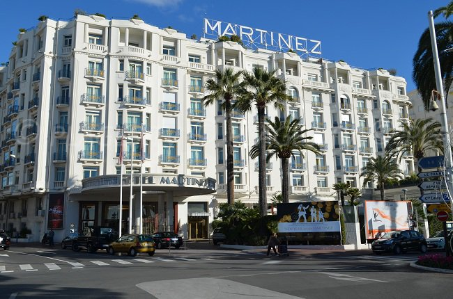 Palace à Cannes: le Martinez