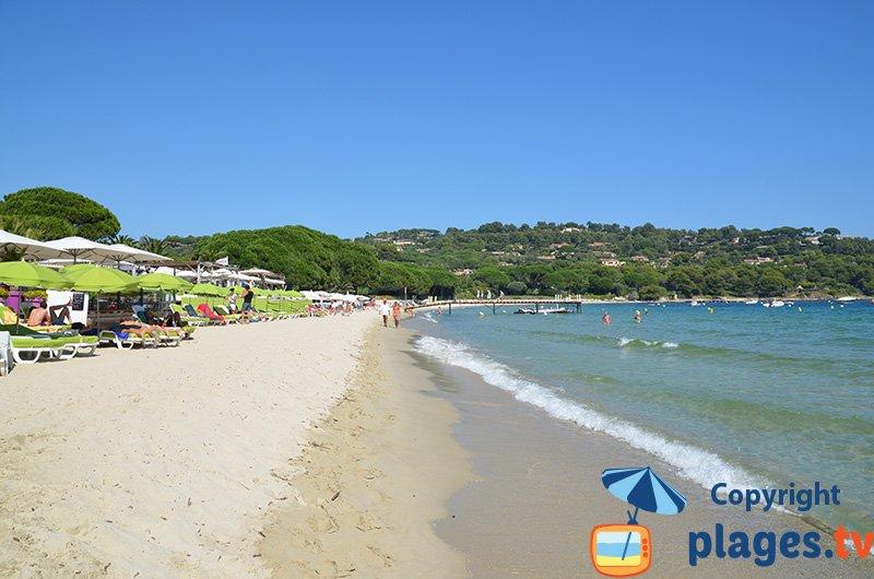 Pampelone côté plage privée
