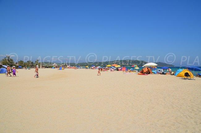 La plage de Pampelonne classée parmi les plus belles plages de France
