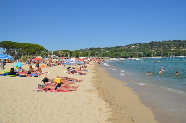 Photo of Pampelonne Beach at the end of August