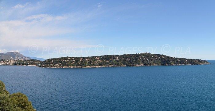Cap Ferrat depuis le Cap de Nice