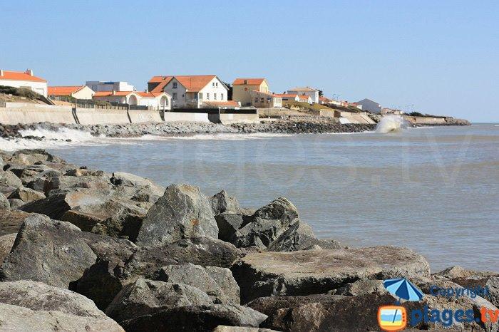 La Parée at high tide - Bretignolles sur Mer