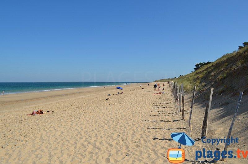 Belle plage sur l'ile de Ré - Petit Bec