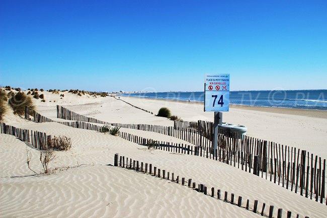Carnon-Plage - spiaggia Petit Travers