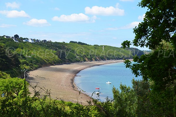 Photo de la plage du Fret à Lanvéoc