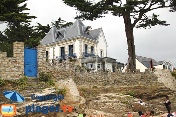 Belle villa sur la plage de Kervoyal - Damgan