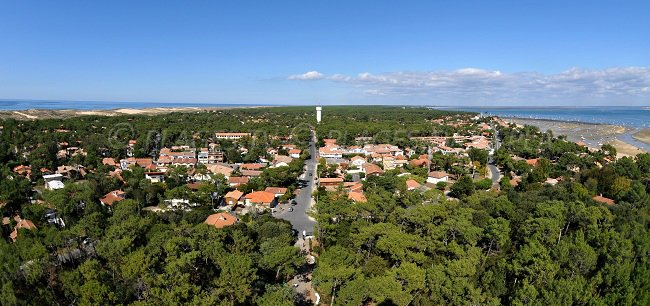 View from the lighthouse of Cap Ferret
