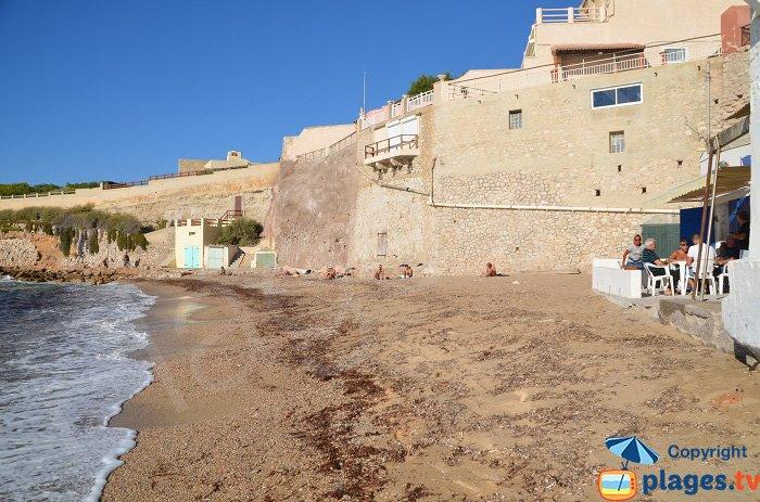La plage des Phocéens - Marseille