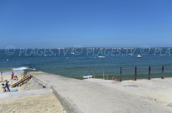 Accès aux plages de Pilat-Plage