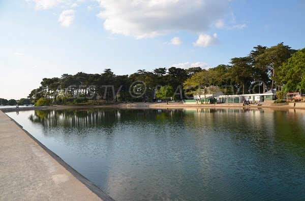 Photo of seawater pool in Vannes