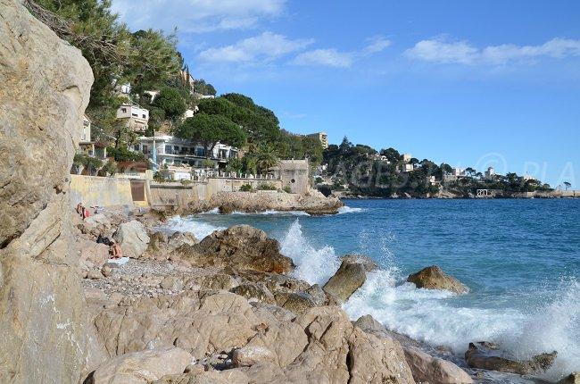 Pissarelles in Cap d'Ail - Frankreich