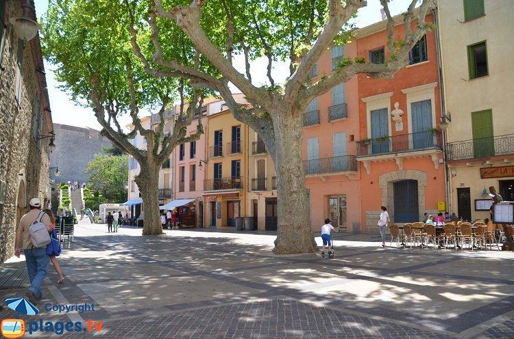 Place de Collioure dans le centre-ville