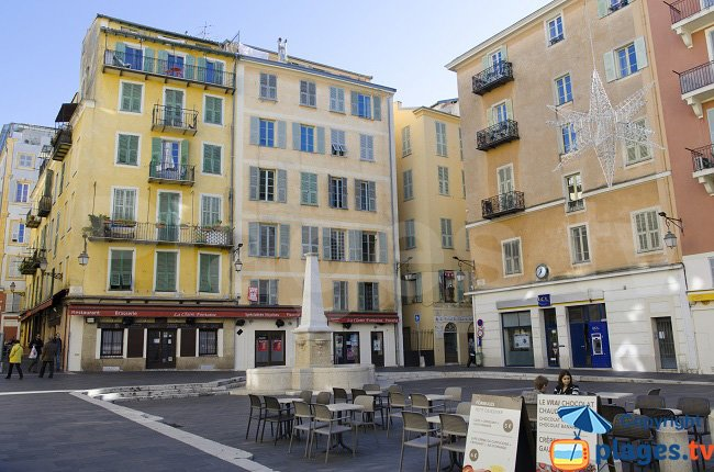 Rossetti Square in Nice - France