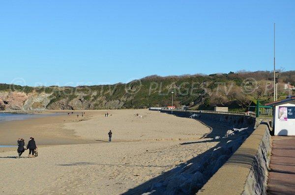 Spiaggia di sabbia d'Hendaye