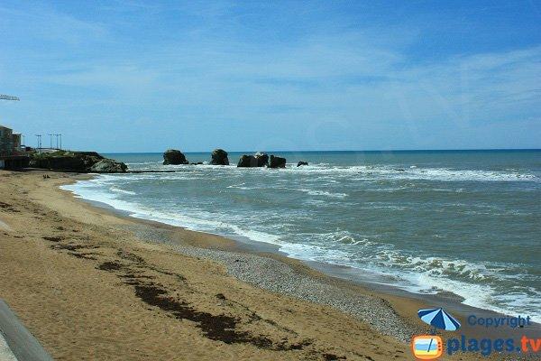 5 Pineaux beach in Sion sur l'Océan