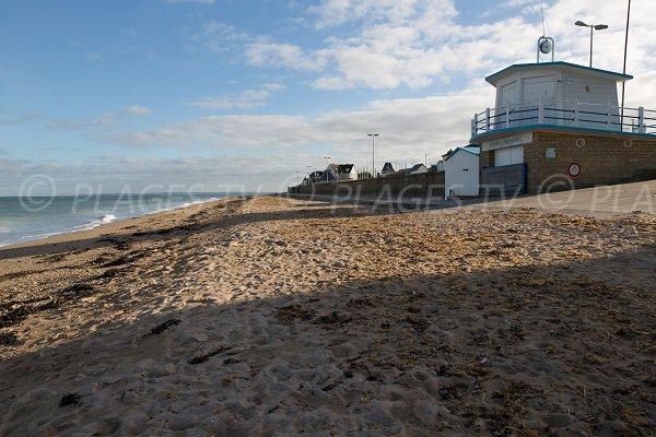 Photo de la plage du 6 juin à Langrune sur Mer