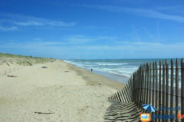 South of 60 Bornes beach in St Hilaire de Riez
