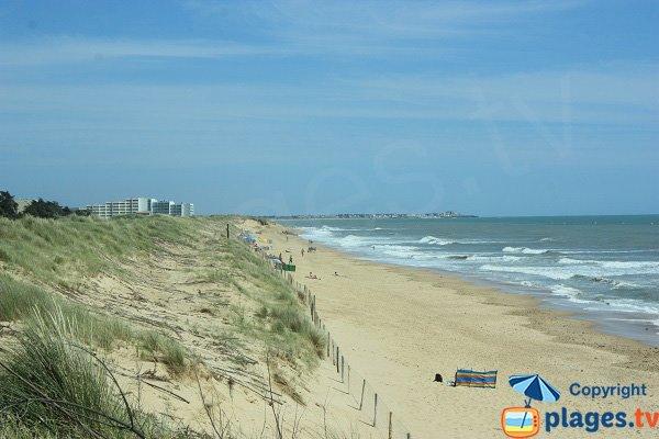 60 Bornes and Salins beach - Saint Hilaire de Riez
