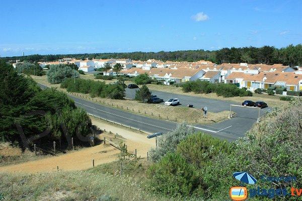Parking of 60 bornes beach - Saint Hilaire de Riez