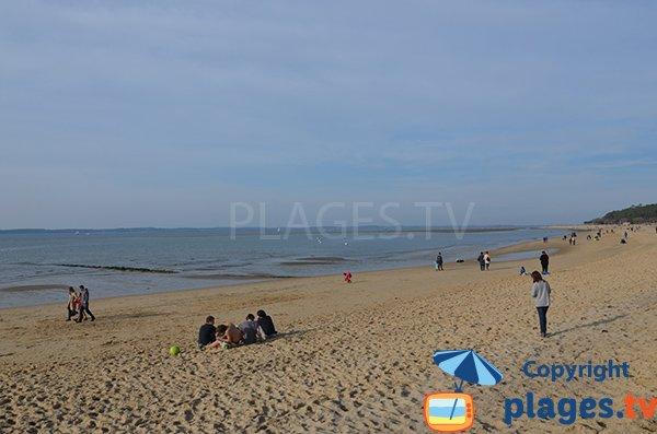 Grande plage des Abatilles à Arcachon