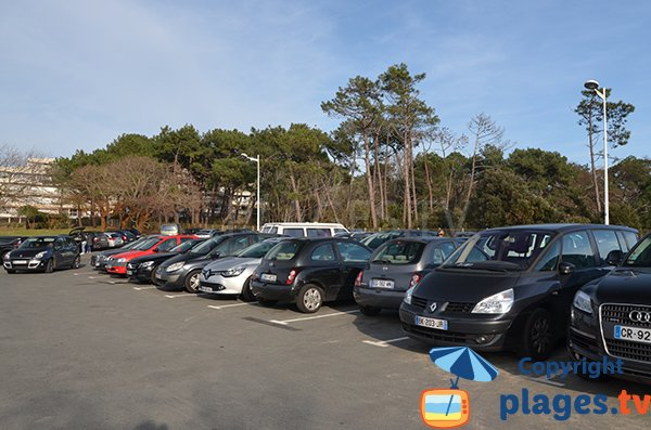 Parking of the beach of Abatilles - Arcachon