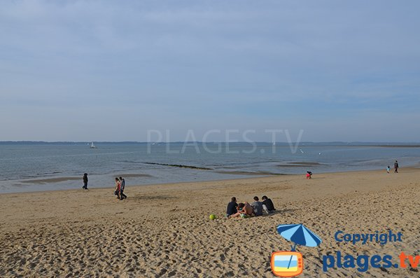 View on Cap Ferret from the beach of Les Abatilles - Arcachon