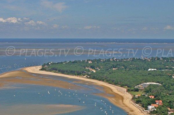 Spiaggia abatilles di Arcachon - Francia