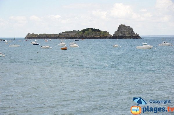 Island of the Rimains in Cancale