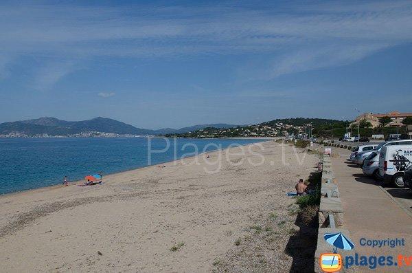 Foto della spiaggia Agosta - Corsica - Albitreccia