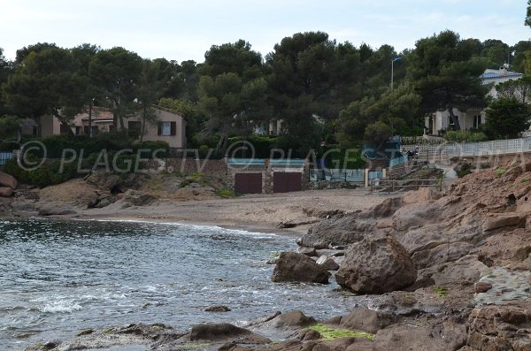 Photo of Aiguebonne beach in St Raphael