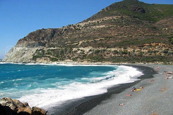 Albo beach in Corsica - Cap-Corse