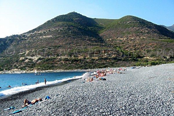 Foto della spiaggia della marina d'Albo - Corsica