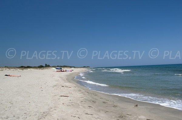 Spiaggia Alistro a San Giuliano in Corsica