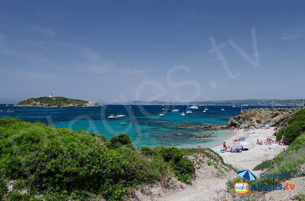 Allemands beach and Grand Rouveau view - Ile des Embiez