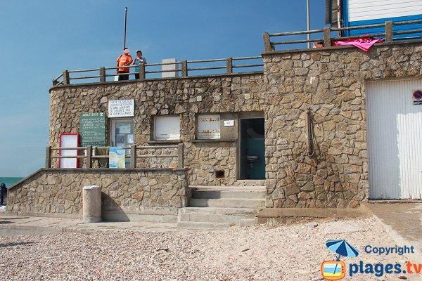 Poste de secours de la plage d'Ambleteuse