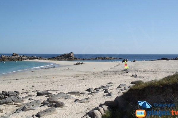 Photo of Amiets beach in Cléder - Brittany - France