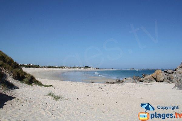 Dunes sur la plage des Amiets - Cléder
