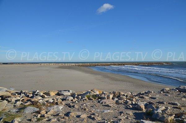 Strand im Zentrum von Saintes Maries de la Mer - Les Amphores
