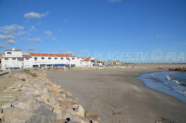 Strand Amphores in Saintes Maries de la Mer - Frankreich