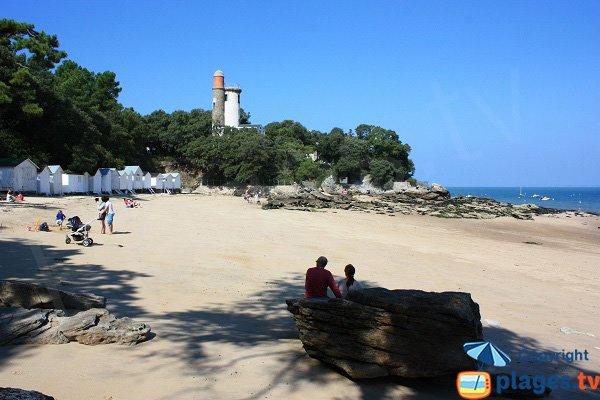 Foto della spiaggia dell'Ansa Rouge - Noirmoutier