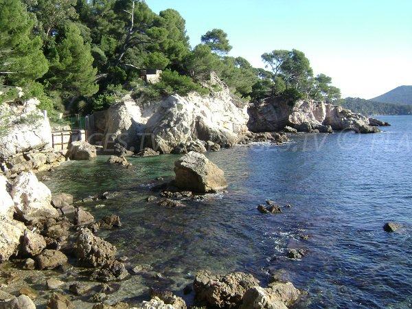 Criques de l'anse San Peyre de Toulon
