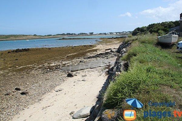 plage d'Aod ar Reun - Plouguerneau - Bretagne
