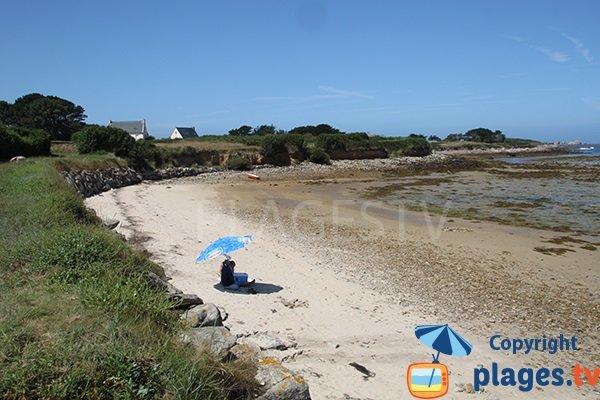 Photo de la plage d'Aod ar Reun à Plouguerneau