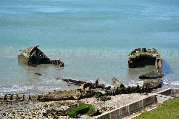 Reste du site de l'Otan à Octeville sur Mer